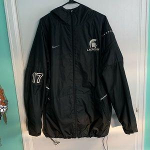 Michigan State Nike Lacrosse Jacket